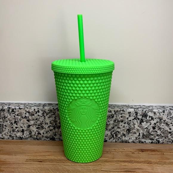 Starbucks | Matte Green Studded Tumbler